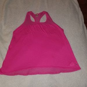 Bright pink loose active old navy tank top
